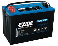 Akumulator Exide Dual AGM