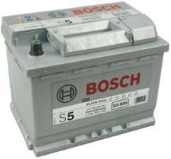 Akumulator BOSCH S5 SILVER PLUS 63AH 610A +P