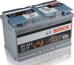 Akumulator BOSCH S5AGM S5A11 12V 80 AH / 800 A START-STOP