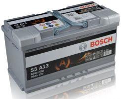 Akumulator BOSCH S5AGM S5A13 12V 95 AH / 850 A START-STOP