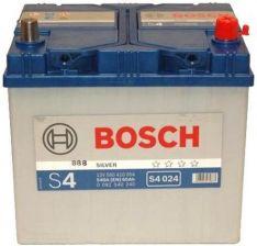 Akumulator BOSCH SILVER S4.024 60AH J 540A 12V (P+)