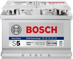 Akumulator BOSCH SILVER S5 008 - 77AH 780A P+