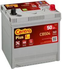 Akumulator CENTRA CB504 PLUS P+ 50AH/360A