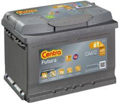 Akumulator CENTRA FUTURA CARBON BOOST CA612 61 AH / 600 A