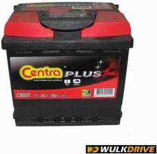 Akumulator CENTRA PLUS 390A 60AH L+ ( CB605/CP15 )