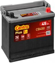 Akumulator CENTRA PLUS CB 450 45AH 330 A P+