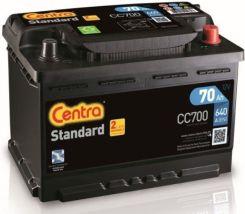 Akumulator CENTRA STANDARD CC700 12V70AH 640A (P+)