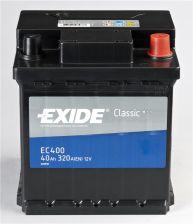 Akumulator EXIDE CLASSIC EC400 - 40AH 320A P+