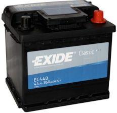 Akumulator EXIDE CLASSIC EC440 (44AH 360A) (P+)