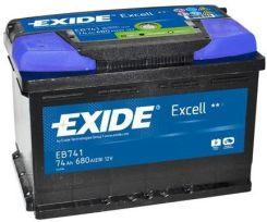 Akumulator EXIDE EB604 60AH/390A EXCELL (P+)