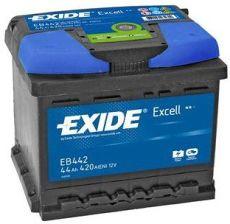 Akumulator EXIDE EXCELL EB442 - 44AH 420A P+