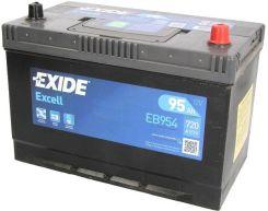 Akumulator EXIDE EXCELL EB954 95AH 720A P+