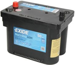 Akumulator EXIDE MICRO-HYBRID AGM EK508 - 50AH 800A L+