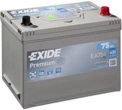 Akumulator EXIDE PREMIUM CARBON BOOST EA754 12V 75 AH / 630 A