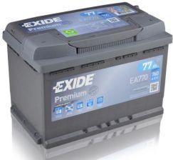 Akumulator EXIDE PREMIUM EA770 - 77AH 760A P+
