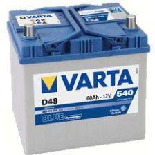 Akumulator VARTA 60AH 540A BLUE L+ D48