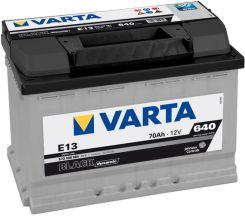 Akumulator VARTA 70AH 640A P+ BLACK E13
