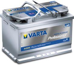 Akumulator VARTA 70AH 760A PROFESSIONAL AGM LA70