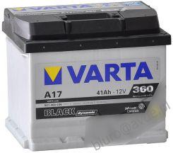 Akumulator VARTA BLACK DYNAMIC A17 41AH 360A 12V (P+)
