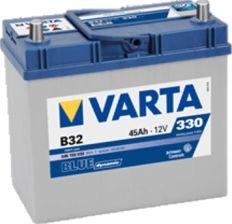 Akumulator VARTA BLUE DYNAMIC B32 (45AH 330A) (P+)