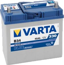 Akumulator VARTA BLUE DYNAMIC B34 (45AH 330A) (L+)