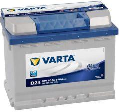 Akumulator VARTA BLUE DYNAMIC D24 (60AH 540A) (P+)