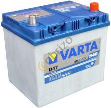 Akumulator VARTA BLUE DYNAMIC D47 (60AH 540A) (P+)
