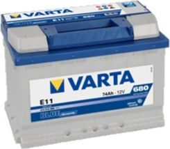 Akumulator VARTA BLUE DYNAMIC E11 (74AH 680A) (P+)