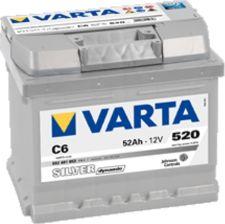 Akumulator VARTA SILVER DYNAMIC C6 (52AH 520A) (P+)