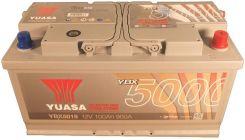 Akumulator YUASA 100AH 900A P+ SILVER YBX5019