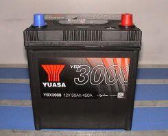 Akumulator YUASA 50AH 450A P+ YBX3008 JAPAN
