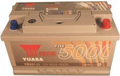 Akumulator YUASA 85AH 800A P+ SILVER YBX5110