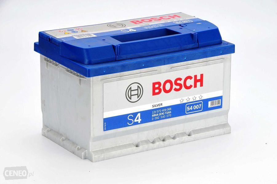 Akumulator BOSCH SILVER S4 007 - 72AH 680A P+