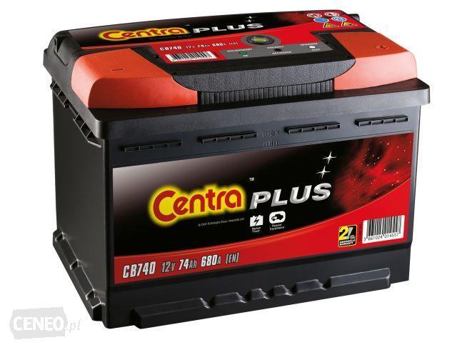 Akumulator CENTRA PLUS CB 440 44AH 400 A P+